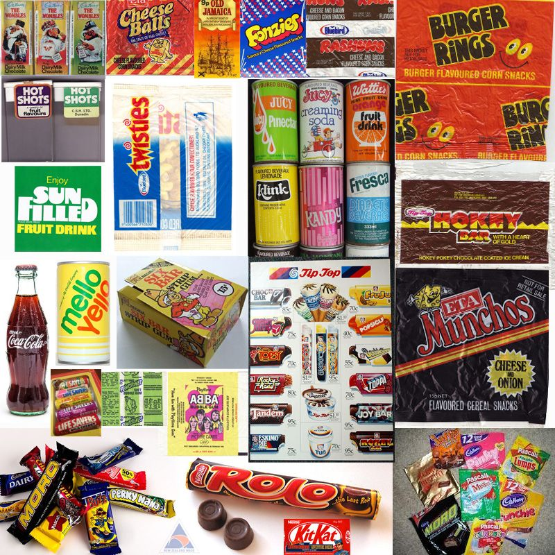 kiwi zealand list confectionery candy range drinks homes childhood