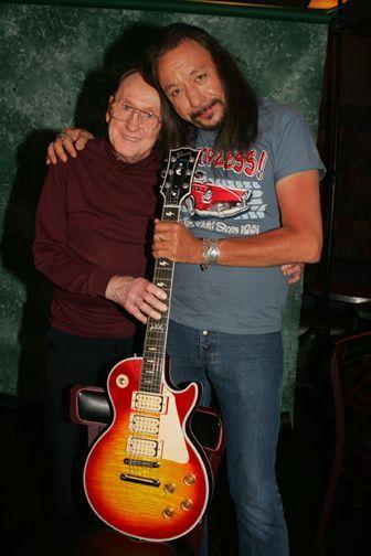Ace Frehley And Les Paul Ace Frehley Les Paul Gibson Les Paul