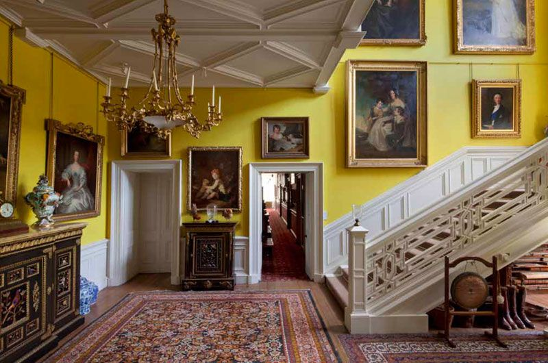 scottish homes and interiors. Grand Irish And Scottish Country House Interior Decor Books Things That Inspire  The stair hall at