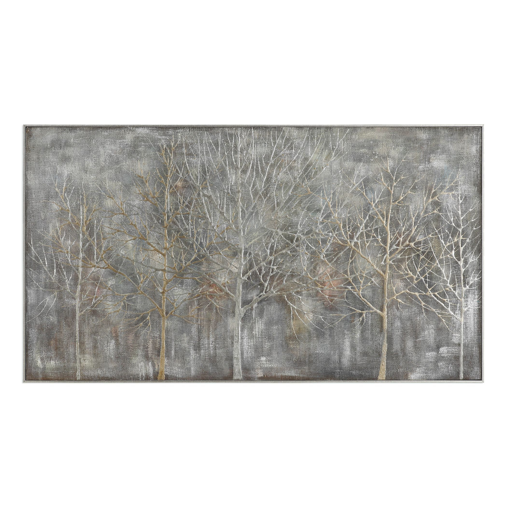Parkview landscape hand painted artwork by uttermost products