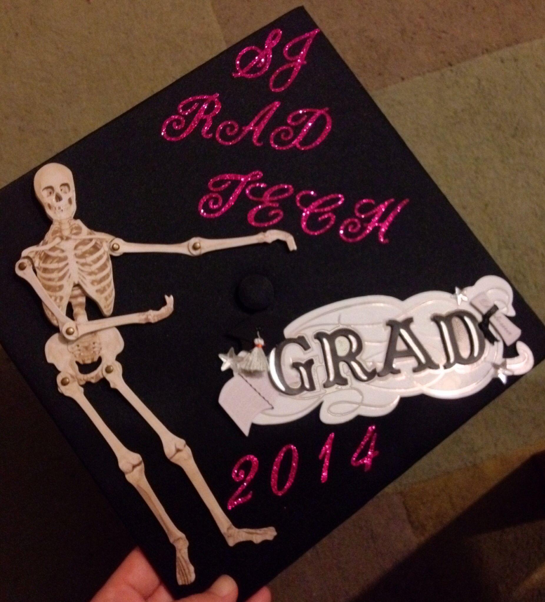 Graduation Cap Design Radiologic Science X Ray X Ray Rad