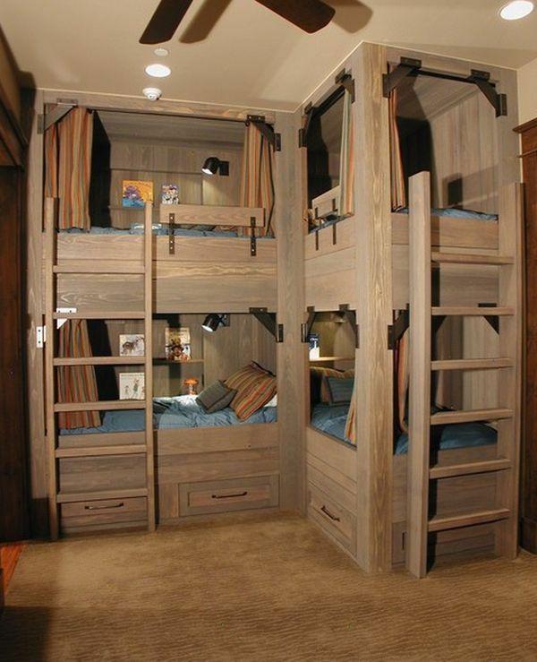 l arrangement des lits superposes dans