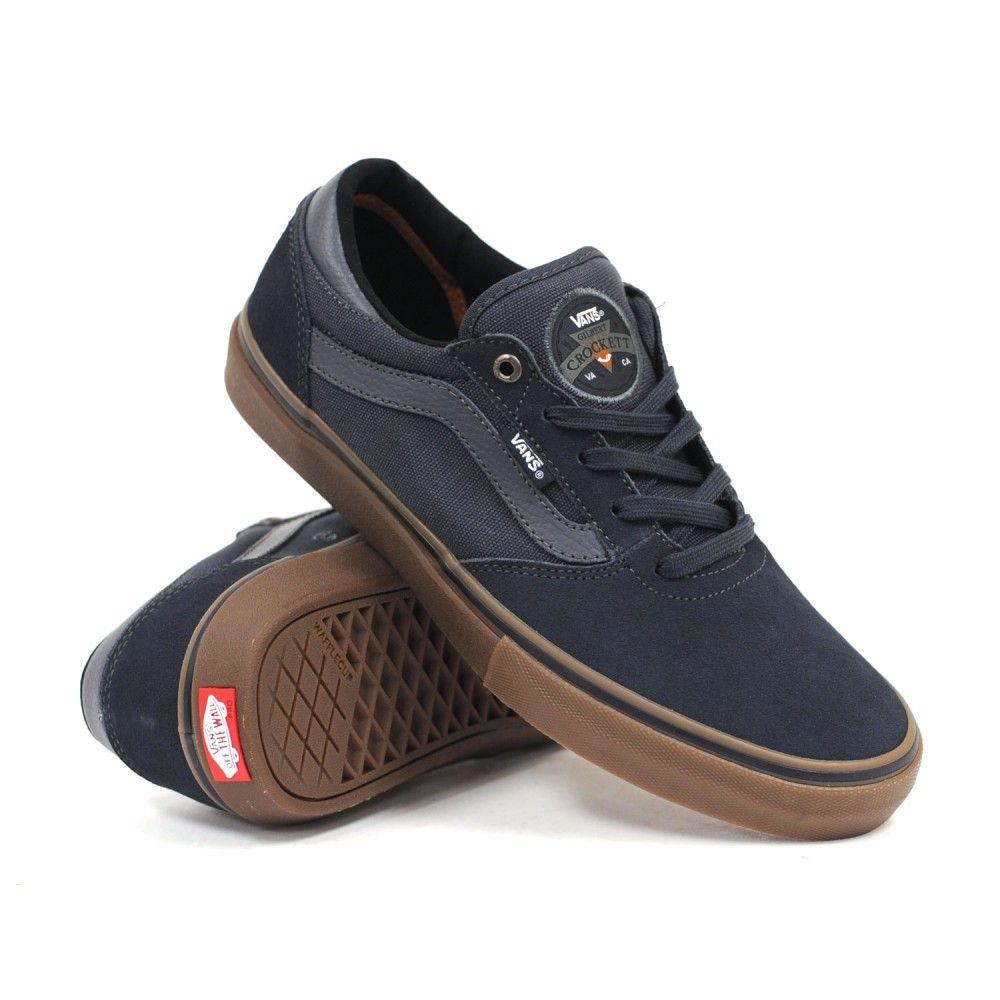 Vans Gilbert Crockett Pro (Navy/Gum) Men's Skate Shoes
