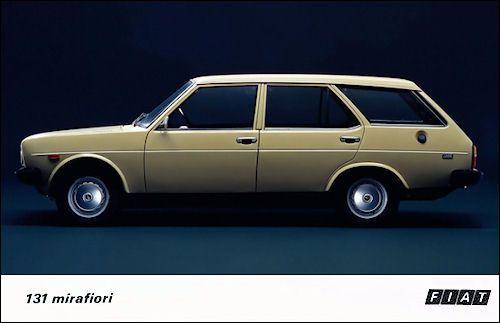 1975 Fiat 131 Mirafiori Estate Car Fiat Cars Uk Car