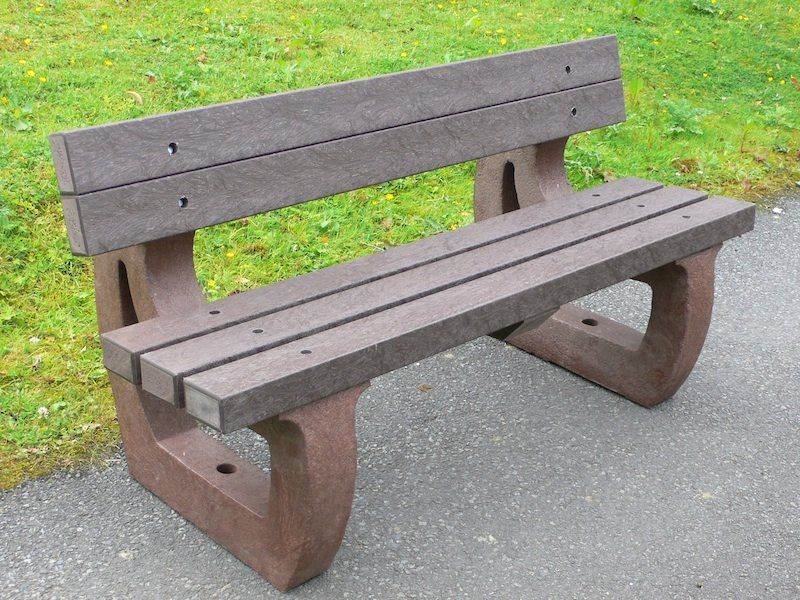Recycled Plastic Garden Bench 3 Seater Colne By Kedel Plastic Garden Bench Garden Bench Garden Furniture