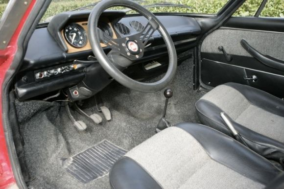 Bat Exclusive Moretti Collection 1973 127 Coupe Fiat Abarth
