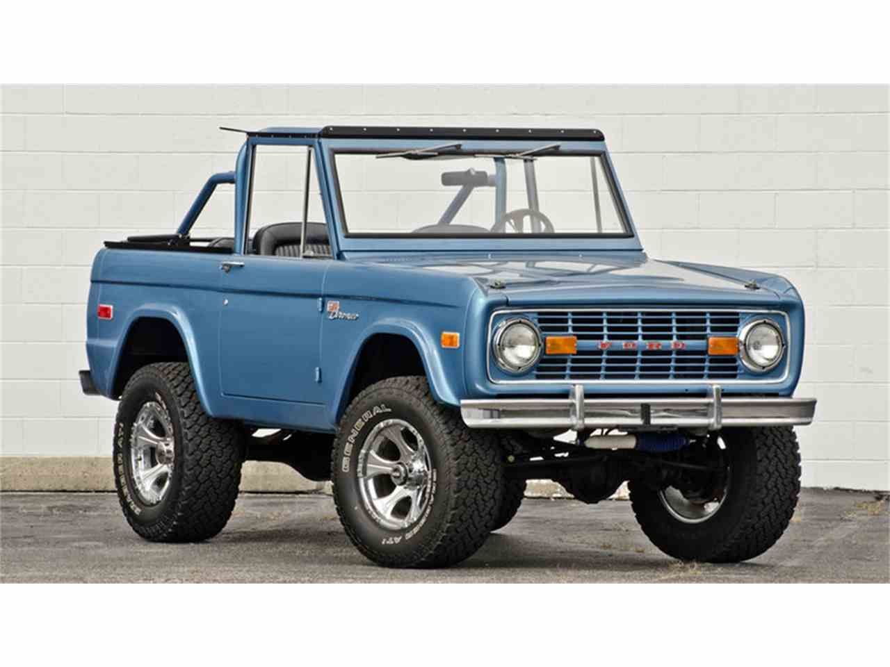 Photo 1 With Images Ford Bronco Bronco Classic Bronco
