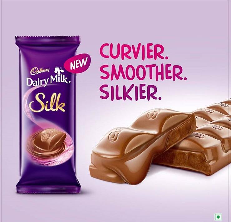 Cadbury Dairy Milk Silk Chocolate Bar Silk Chocolate Chocolate World Dairy Milk