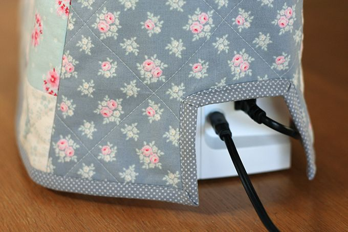 My First Quilting Project Sewing Machine Covers Linen Pinterest Simple First Sewing Machine Project