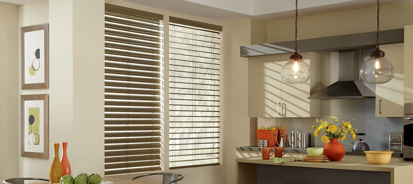 Reveal In Gold Brushed Blinds For Windows