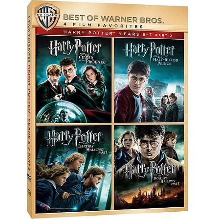 4 Film Favorites Harry Potter Years 5 7 Part 2 Harry Potter And The Order Of The Phoenix H Harry Potter Years Phoenix Harry Potter Deathly Hallows Part 1