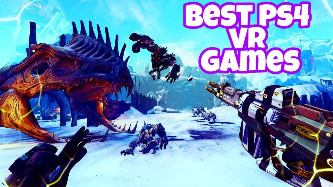 10 Best Ps4 Vr Games 2020 Ps4 Vr Games Vr Games Ps4 Vr