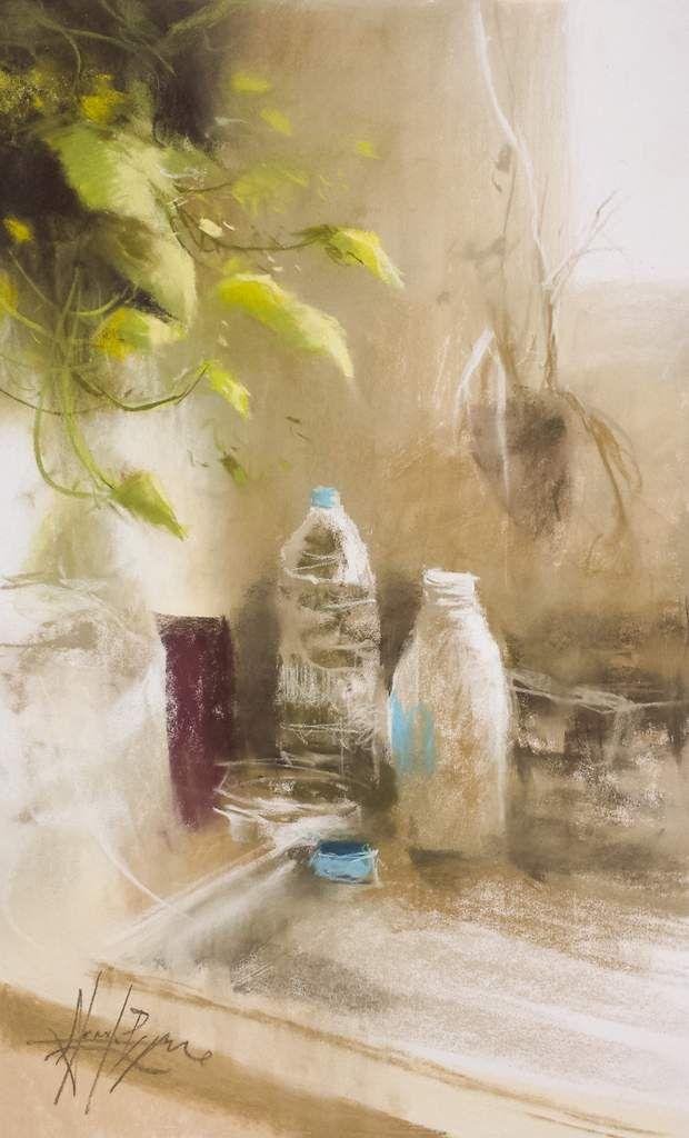 Aquarelliste Aquarelle Pastel Sec Acrylique Huile Paysage