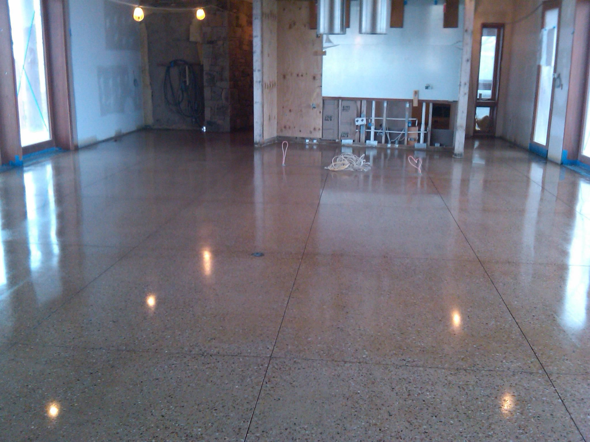 contemporary painting concrete floors glitter for contemporary ...