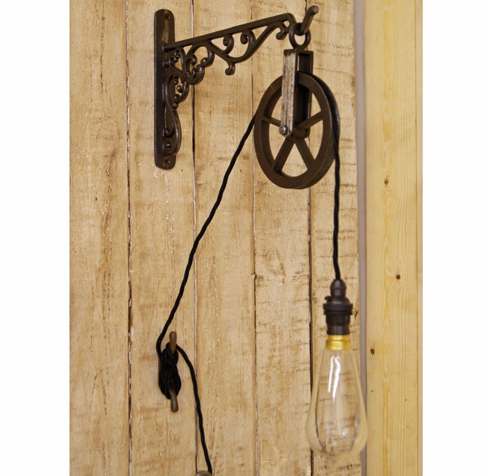 Vintage Alexander pulley wall light | Industrial Lighting ...