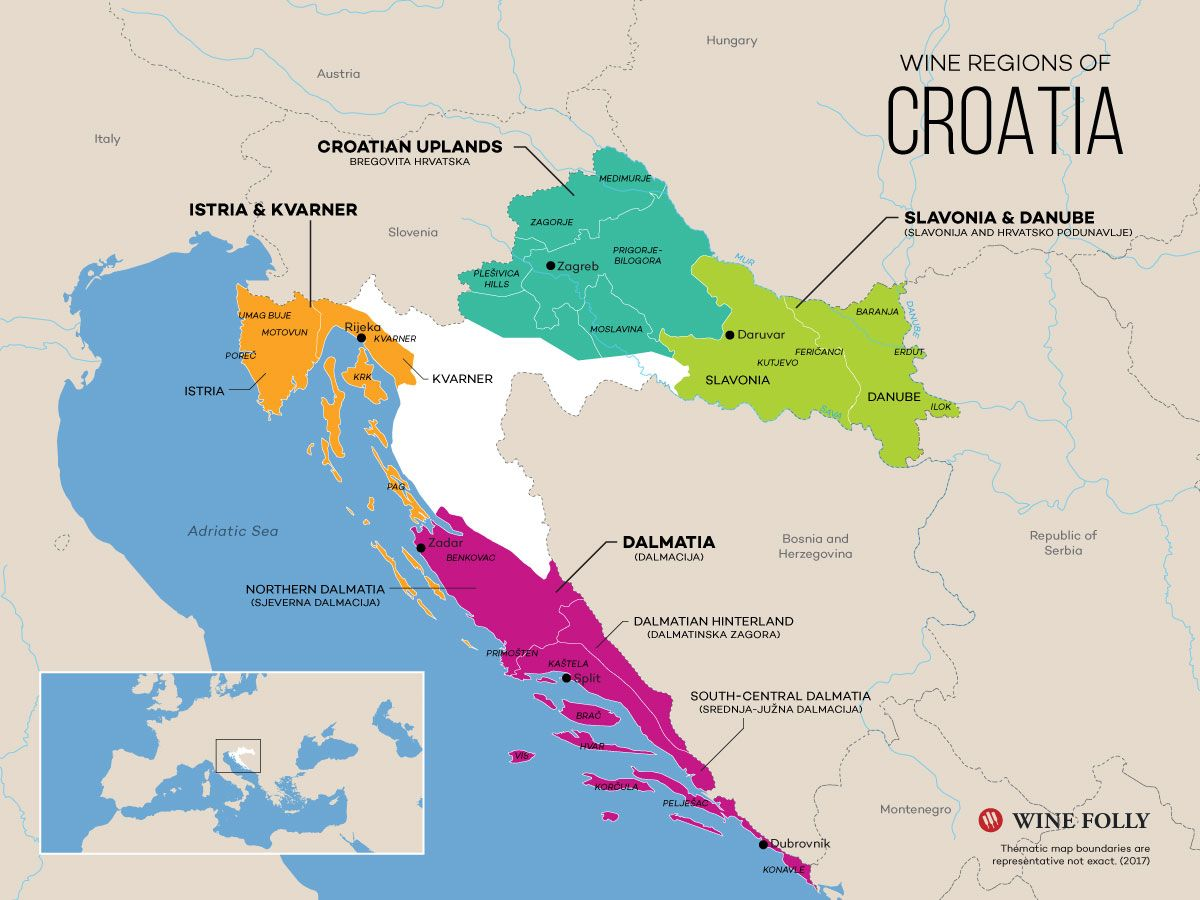 Introduction To Croatian Wines Wine, Wine folly and Food