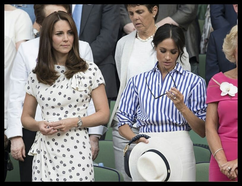 Meghan Markle Did Her Best To Hide Embarrassment In Face Of Humiliating Faux-Pas At Wimbledon. Lucky For Her, Not Everybody Spotted It... - All Cute All The Time