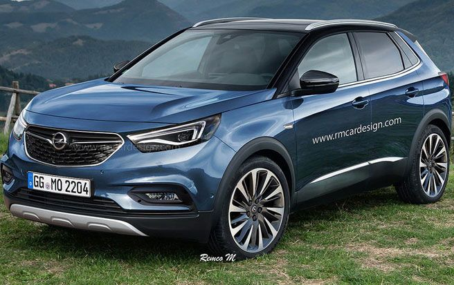 Irmscher Previews Its Modified Opel Grandland X Carscoops Opel Vauxhall Vw Cars