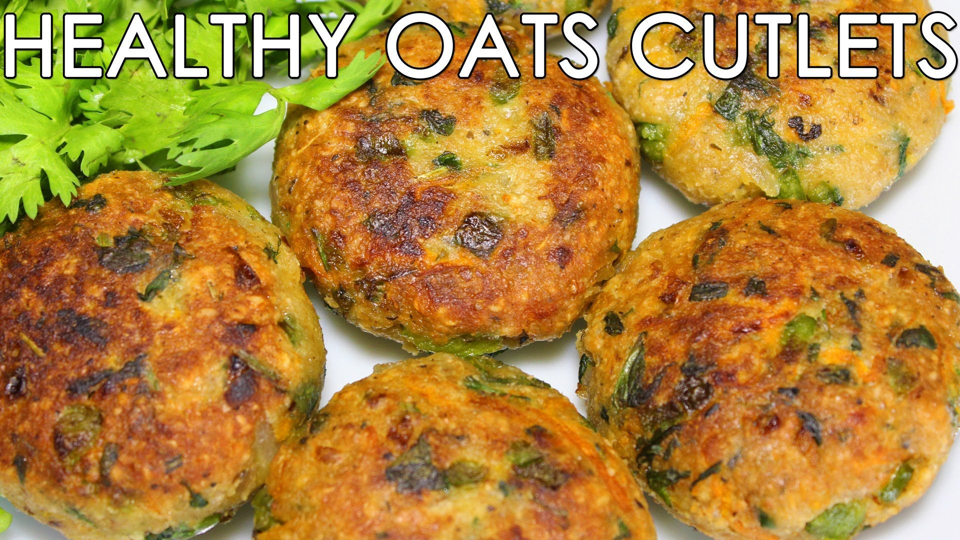 Healthy Oats & Mixed Vegetable Cutlets Delicious Indian