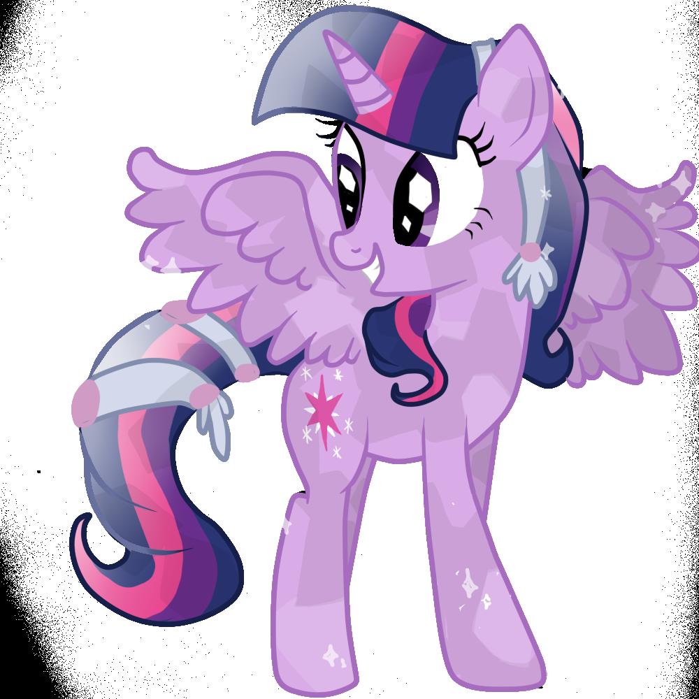 - Twilight Sparkle Alicorn Crystal By OceanHorse00.deviantart.com On