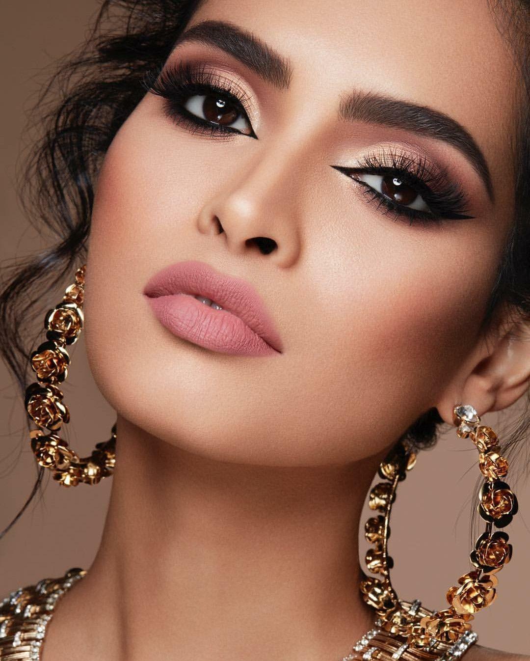 Картинки красивый макияж лица