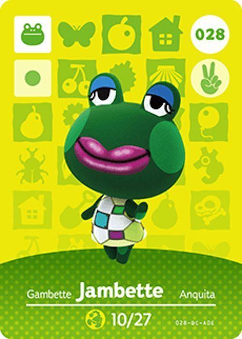 Nintendo Animal Crossing Happy Home Design Jambette Amiibo
