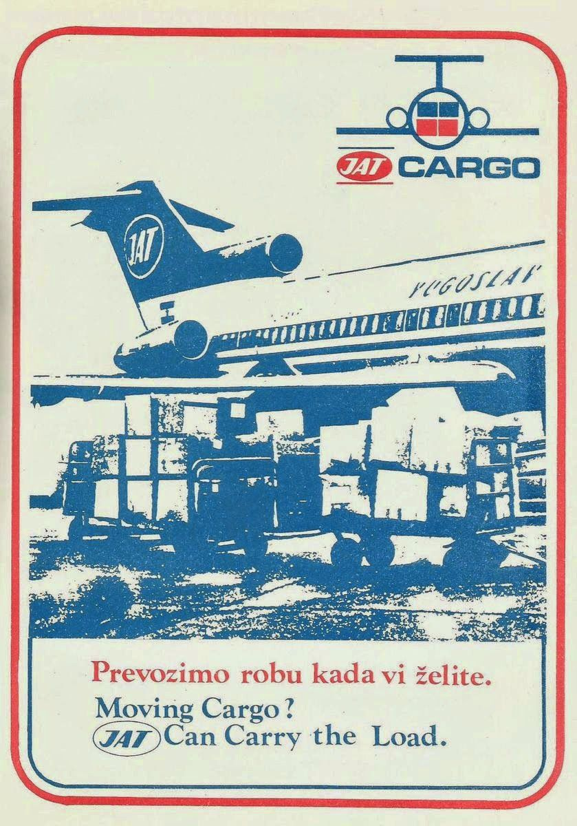 JAT Yugoslav Airlines Cargo