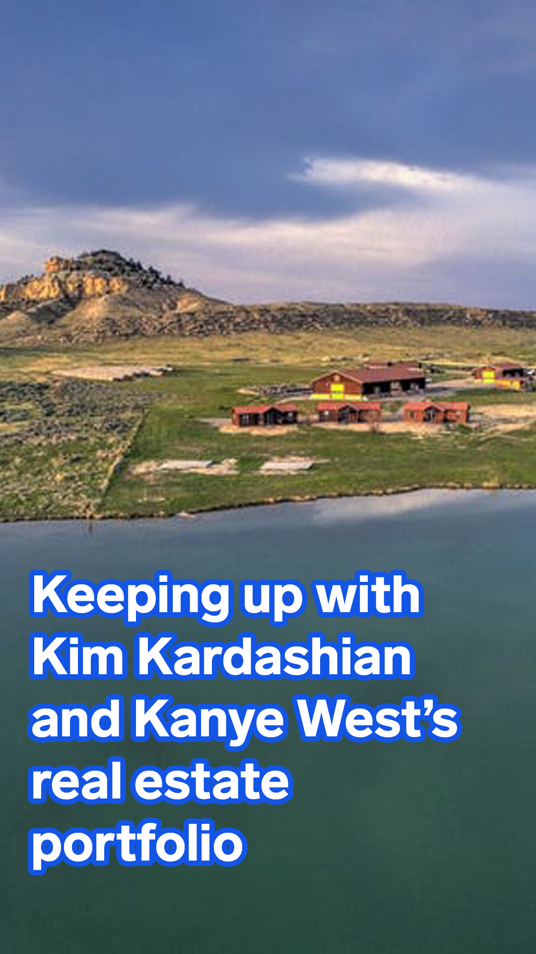 Kanye West And Kim Kardashian Have Spent Millions On Homes Across The Country From Wyoming Ranches To An Ever Expanding La Compound Take A Look Inside Their R Kanye West And Kim