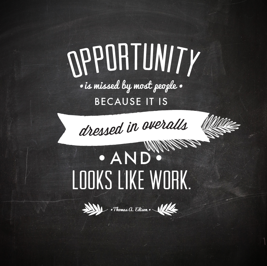 Opportunity Quotes, Quote Posters