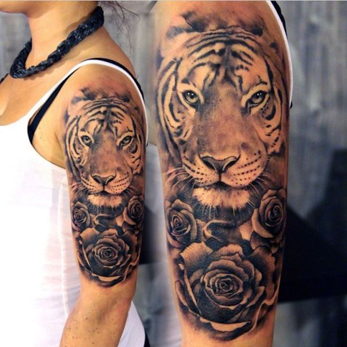 Photo of ▷ 1001 ultra cool tiger tattoo ideas for inspiration