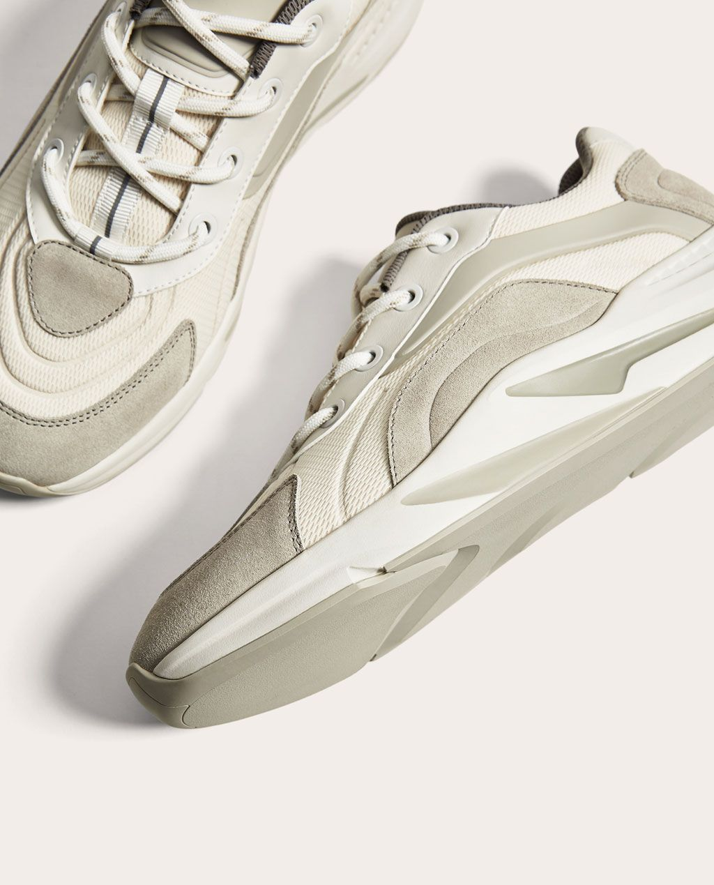 Chaussures Nouveautés Semelle Grises Avec Et Épaisse Tennis Blanches cv7a50cq