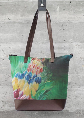 VIDA Tote Bag - FANTASY FLOWERS 1 by VIDA 69MorWmY