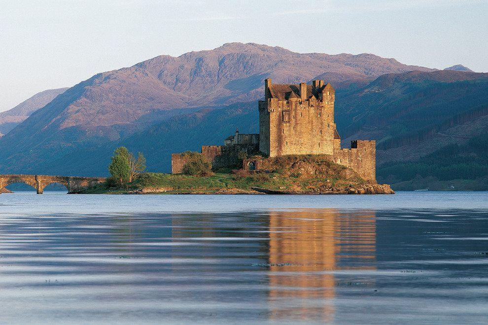 The Eilean Donan Castle is one of the most recognized