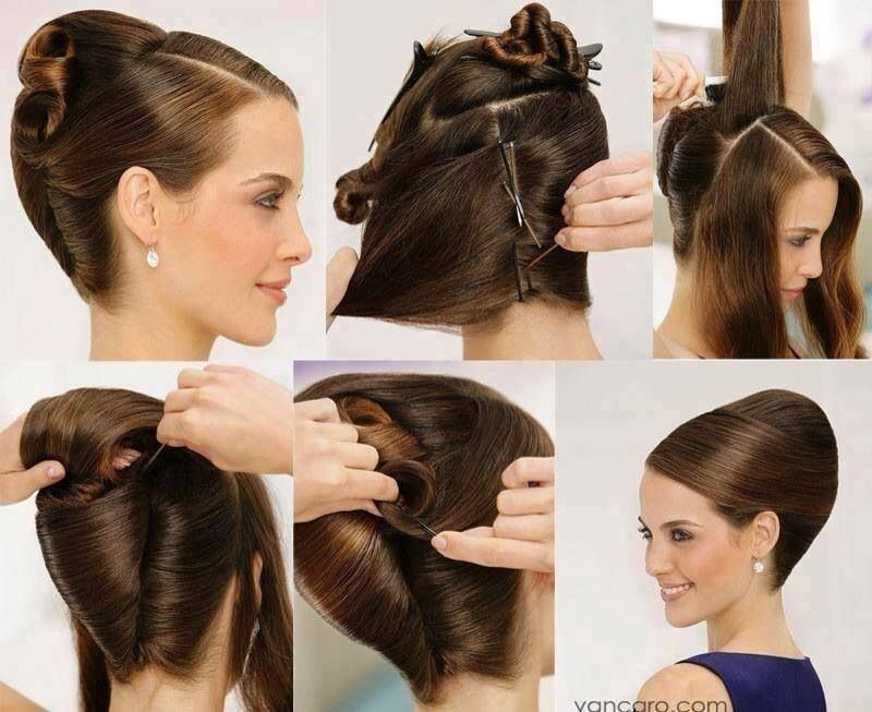 Swiss Roll Up Do Hair Styles Beauty Diy Hair Elegant Hairstyles