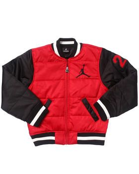 29eff294f41e10 Love this VARSITY BUBBLE JACKET (8-20) by Air Jordan on DrJays. Take a look  and get 20% off your next order!