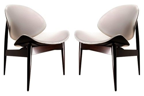 Clam Shell Chairs Circa 1960. Designed By Seymour James Weiner For The  Kodawood Furniture Co