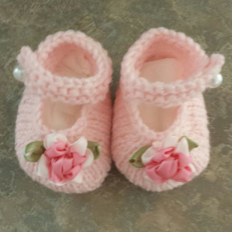 Baby Janes By Valerie Johnson - Free Knitted Pattern - (ravelry) t ...