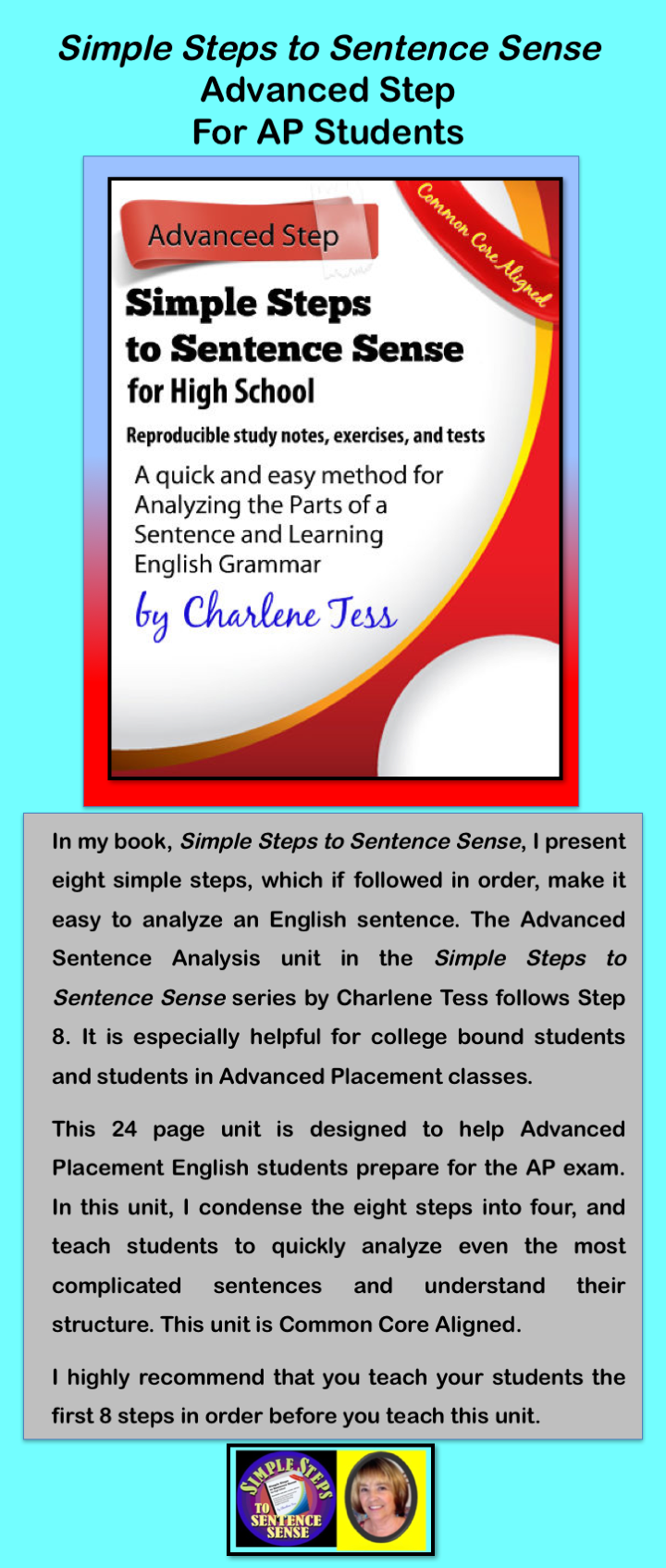Advanced Sentence Analysis Grammar Unit from Simple Steps to