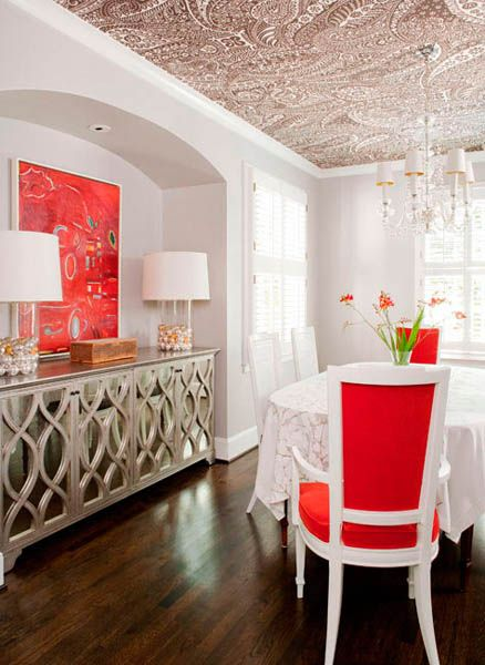 Ceiling Designs 15 Ideas For Decorating With Modern Wallpaper