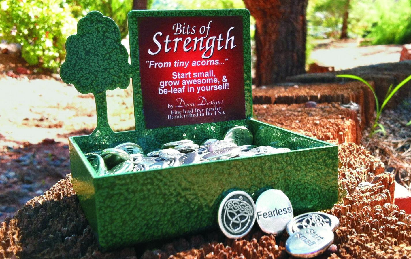 Bits of Strength celtic acorns, by Bob Heiney & Suzie Heiney, submitted by Deva Designs