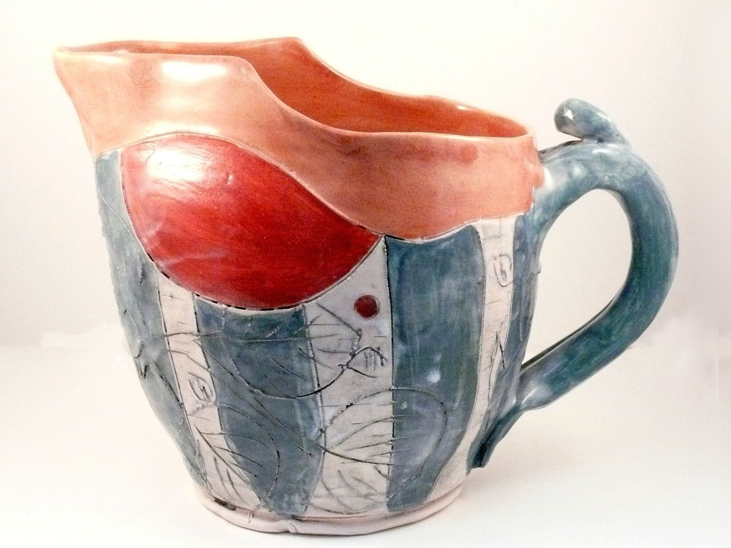Your Place To Buy And Sell All Things Handmade Ceramic Pitcher Ceramics Handmade Ceramics