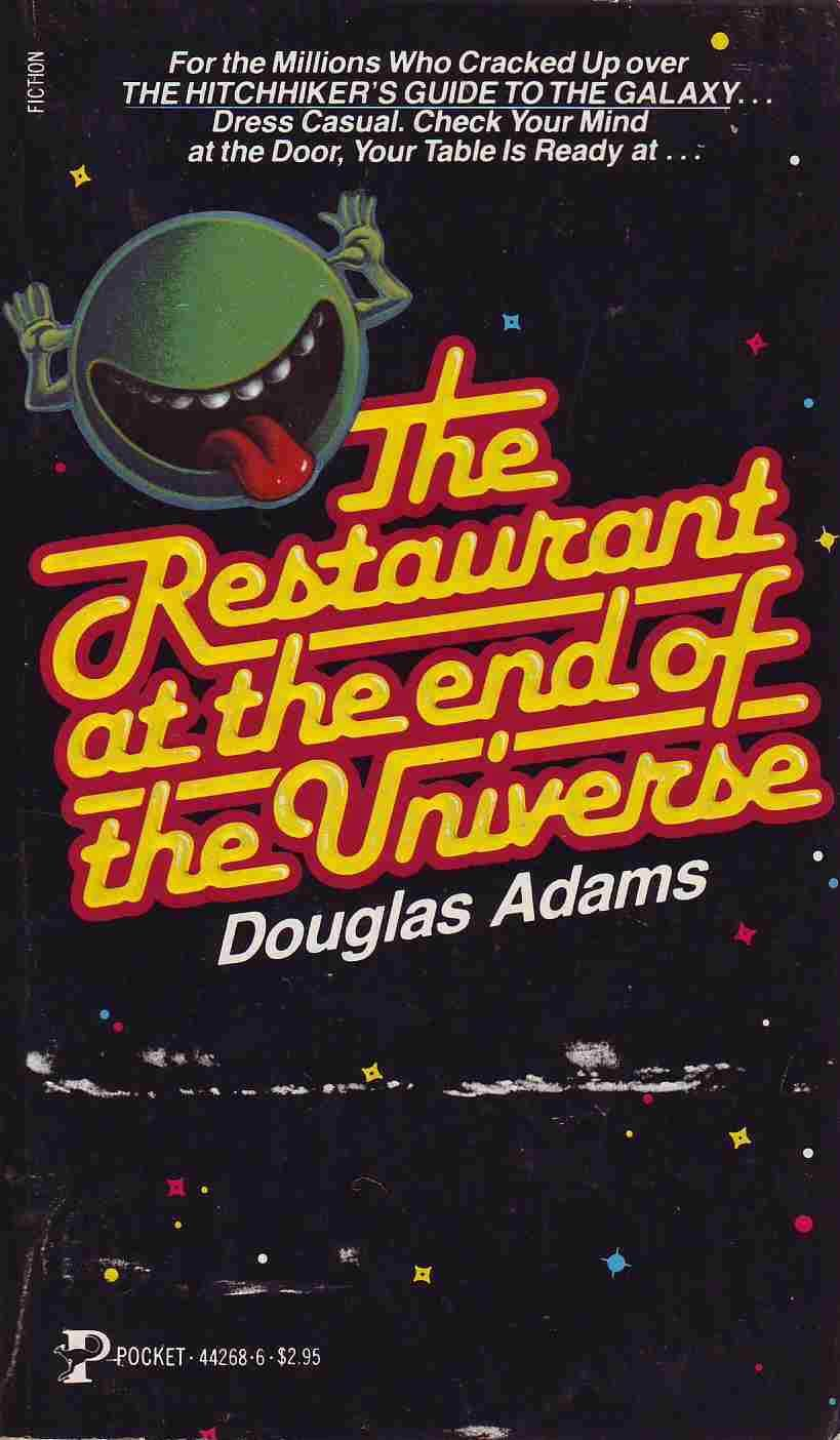 The restaurant at the end of the universe douglas adams 2014 the restaurant at the end of the universe douglas adams fandeluxe Choice Image