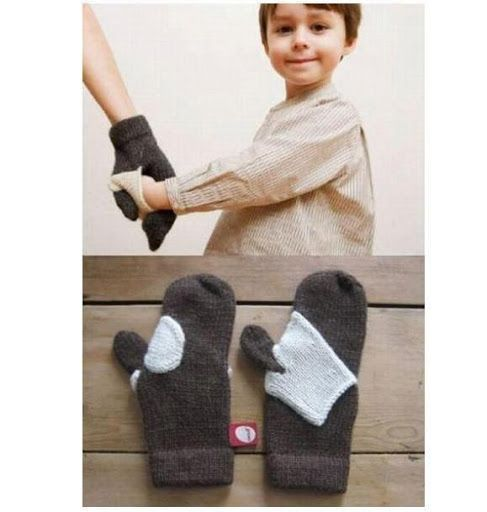 Gloves for parents and kids! haha!