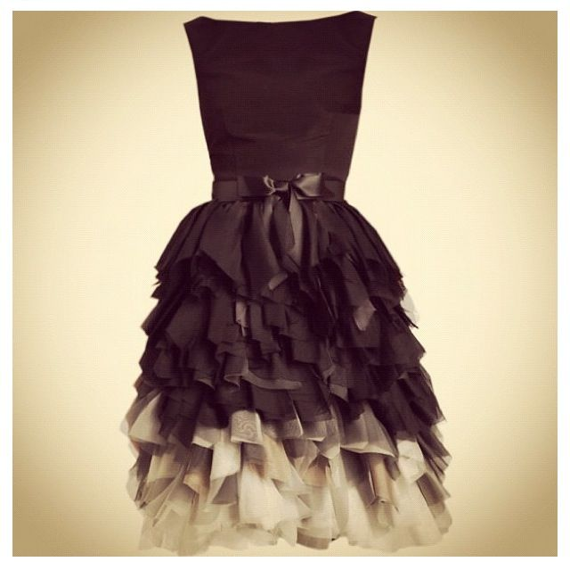 Ombre dress. would be beautiful in blue <3