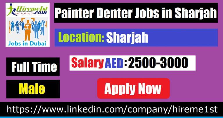 Painter Denter Jobs in Auto Garage Sharjah Job, Dubai