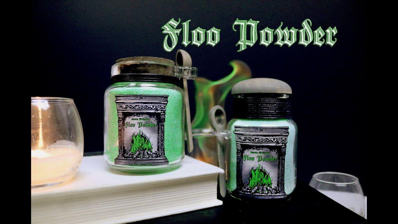 Floo Powder Diy Prop Bottles Diy Green Fire Harry Potter Inspired Harry Potter Potions Harry Potter Diy Diy Props
