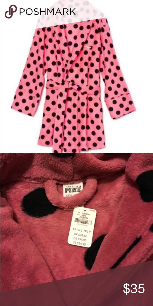 Victoria secret pink robe NWT | My Posh Picks | Pinterest | Victoria ...