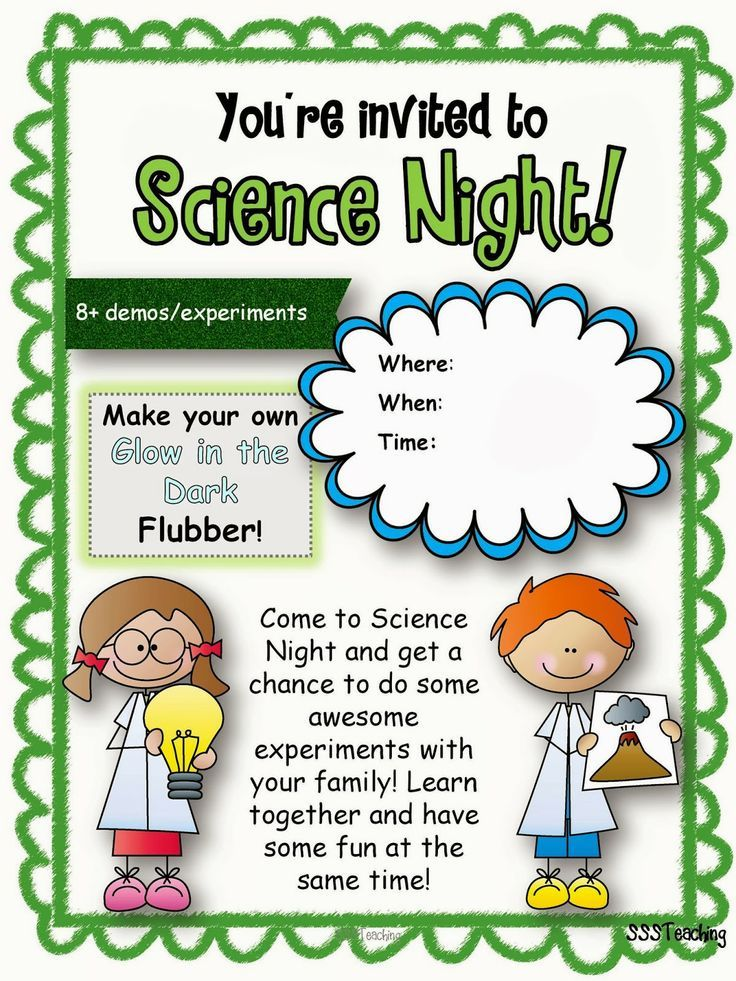 science fair poster templates