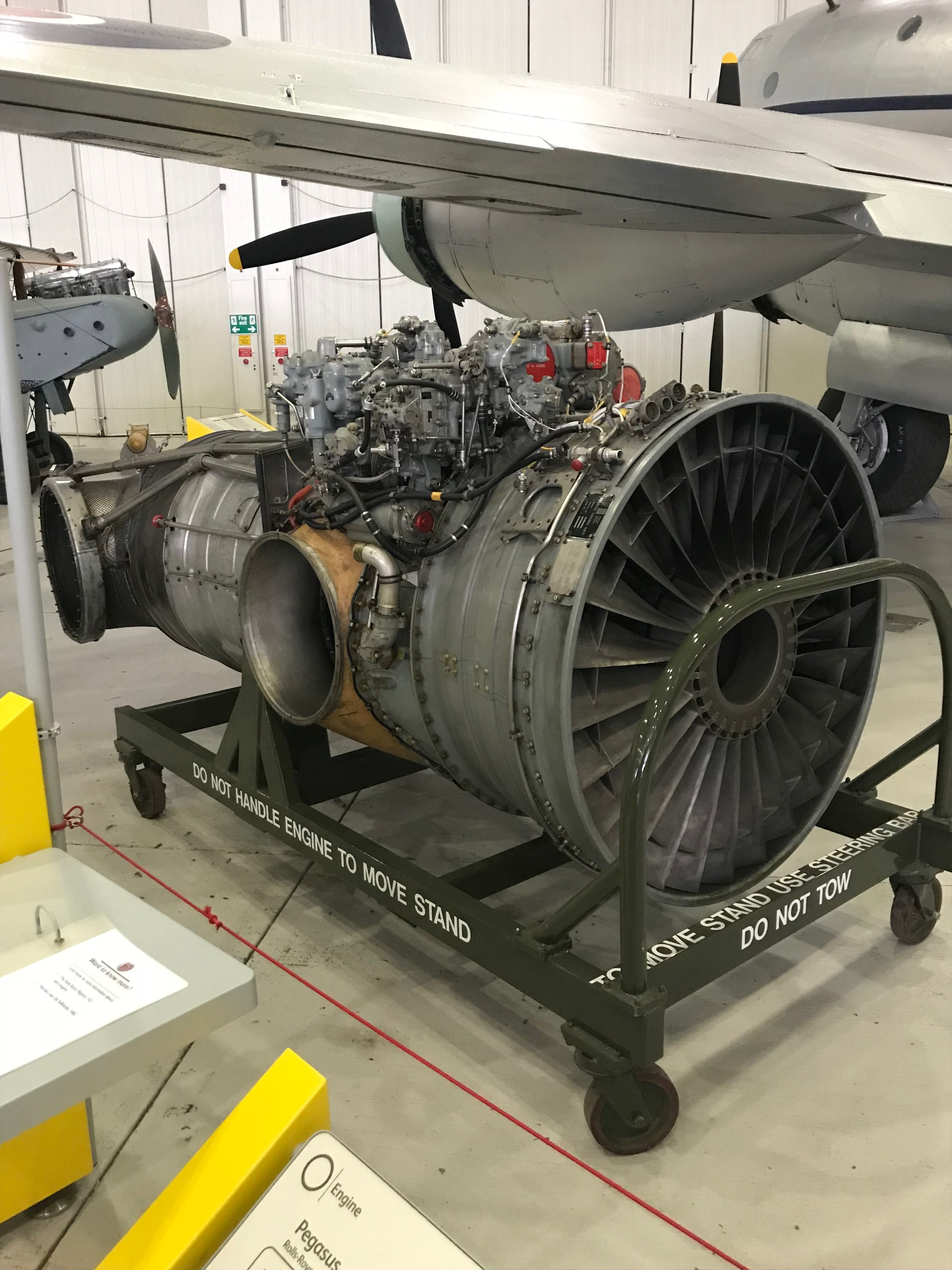 Rolls Royce Pegasus (Harrier) | Aircraft Engines | Aircraft