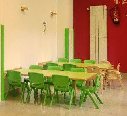 El comedor de una guarder a mobiliario escolar for Mobiliario comedor